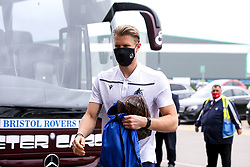 Anssi Jaakkola of Bristol Rovers arrives at Doncaster Rovers - Mandatory by-line: Robbie Stephenson/JMP - 26/09/2020 - FOOTBALL - The Keepmoat Stadium - Doncaster, England - Doncaster Rovers v Bristol Rovers - Sky Bet League One