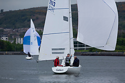 Day 1 Scottish Series, SAILING, Scotland.<br /> <br /> IRL 1113, Etchells, Gelert, RGYC, Etchells<br /> <br /> The Scottish Series, hosted by the Clyde Cruising Club is an annual series of races for sailing yachts held each spring. Normally held in Loch Fyne the event moved to three Clyde locations due to current restrictions. <br /> <br /> Light winds did not deter the racing taking place at East Patch, Inverkip and off Largs over the bank holiday weekend 28-30 May. <br /> <br /> Image Credit : Marc Turner / CCC