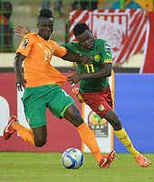 Eric Bailly ( Cote Ivoire ) - Edgar Salli ( Cameroun )