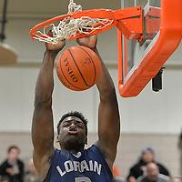 1.9.2015 Lorain at North Olmsted Boys Varsity Basketball