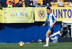 February 3, 2019 - Villarreal, Castellon, Spain - Wu Lei of RCD Espanyol during the La Liga match between Villarreal and Espanyol at Estadio de la Ceramica on February 3, 2019 in Vila-real, Spain. (Credit Image: © Maria Jose Segovia/NurPhoto via ZUMA Press)