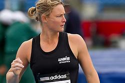 adidas Grand Prix Diamond League professional track & field meet: womens javelin throw, Kimberley MICKLE, Australia