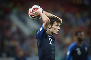 Benjamin Pavard of France during the 2018 FIFA World Cup Russia, Semi Final football match between France and Belgium on July 10, 2018 at Saint Petersburg Stadium in Saint Petersburg, Russia - Photo Thiago Bernardes / FramePhoto / ProSportsImages / DPPI