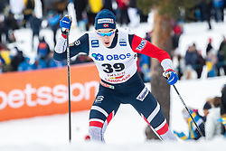 March 16, 2019 - Falun, SVERIGE - 190316 Mattis Stenshagen of Norway during the FIS Cross-Country World Cup on march 16, 2019 in Falun  (Credit Image: © Daniel Eriksson/Bildbyran via ZUMA Press)