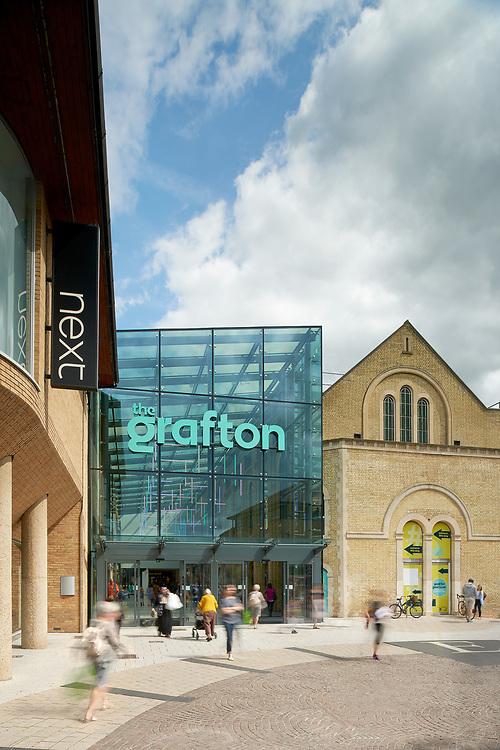 Front exterior The Grafton Centre, Cambridge