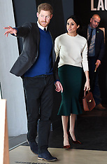 Prince Harry and Meghan Markle visit Titanic Belfast - 23 March 2018