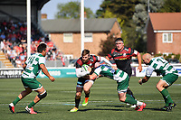 Rugby Union - 2021 Green King IPA Championship - Final, 1st leg - Ealing Trailfinders vs Saracens - Trailfinders Sports Ground<br /> <br /> Saracens' Elliot Daly in action during this afternoon's game.<br /> <br /> COLORSPORT/ASHLEY WESTERN