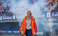 Den Bosch - Rabo fandag 2019 . hockey clinics met de spelers van het Nederlandse team. opkomst van international Caia van Maasakker (Ned) .   COPYRIGHT KOEN SUYK