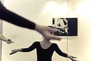 Ballet class at Apsara studio in Hanoi, Vietnam, Asia