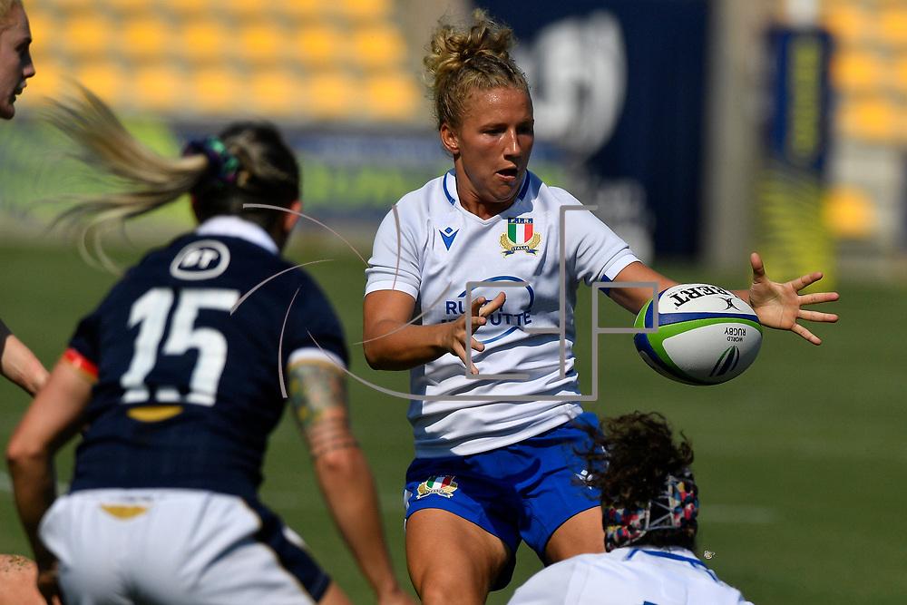 Parma 13/09/2021, Stadio S.Lanfranchi<br /> Qualificazioni Mondiali 2022<br /> Scozia vs Italia femminile<br /> <br /> Veronica Madia