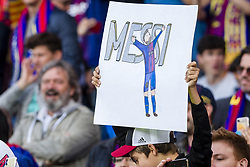 May 6, 2018 - Barcelona, Catalonia, Spain - FC Barcelona fans during the match between FC Barcelona v Real Madrid, for the round 36 of the Liga Santander, played at Camp nou  on 6th May 2018 in Barcelona, Spain. (Credit Image: © Urbanandsport/NurPhoto via ZUMA Press)