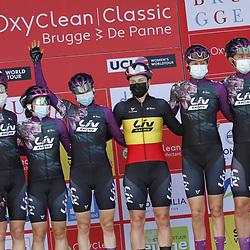 25-03-2021: Wielrennen: Classic Brugge - De Panne Women: De Panne<br />Liv