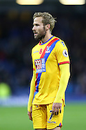 Yohan Cabaye of Crystal Palace looking dejected at the end of the game. Premier League match, Burnley v Crystal Palace at Turf Moor in Burnley , Lancs on Saturday 5th November 2016.<br /> pic by Chris Stading, Andrew Orchard sports photography.