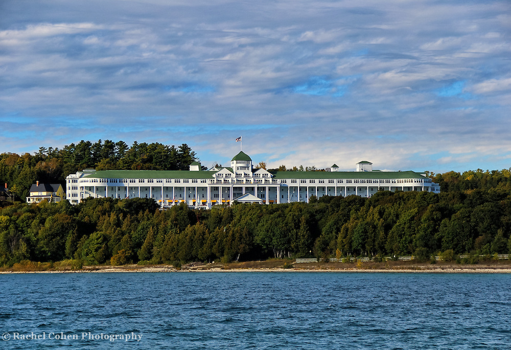 """""""Grand Hotel""""<br /> <br /> The Grand Hotel on Mackinac Island!<br /> <br /> The Great Lakes by Rachel Cohen"""