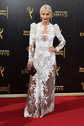 . Julianne Hough   attends  2016 Creative Arts Emmy Awards - Day 2 at  Microsoft Theater on September 11th, 2016  in Los Angeles, California.Photo:Tony Lowe/Globephotos