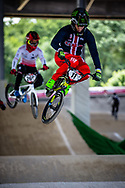 #11 (FIELDS Connor) USA at Round 5 of the 2019 UCI BMX Supercross World Cup in Saint-Quentin-En-Yvelines, France