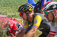 Dylan Groenewegen (NED - Team LottoNL - Jumbo) on the cobbles of sector 3 during the 105th Tour de France 2018, Stage 9, Arras Citadelle - Roubaix (156,5km) on July 15th, 2018 - Photo George Deswijzen / Proshots / ProSportsImages / DPPI