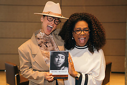 """Oprah Winfrey releases a photo on Twitter with the following caption: """""""". @aliciakeys has navigated the spotlight and pressures of fame while retaining a humble and beautiful spirit. I am honored she chose to share her personal story #MoreMyself through my imprint. You can read it on 11/5 and it's available for pre-order now. https://t.co/4rGNnKL8Vx"""""""". Photo Credit: Twitter *** No USA Distribution *** For Editorial Use Only *** Not to be Published in Books or Photo Books ***  Please note: Fees charged by the agency are for the agency's services only, and do not, nor are they intended to, convey to the user any ownership of Copyright or License in the material. The agency does not claim any ownership including but not limited to Copyright or License in the attached material. By publishing this material you expressly agree to indemnify and to hold the agency and its directors, shareholders and employees harmless from any loss, claims, damages, demands, expenses (including legal fees), or any causes of action or allegation against the agency arising out of or connected in any way with publication of the material."""