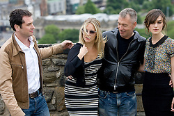 Matthew Rhys, Sienna Miller, John Maybury and Keira Knightley..The Edge of Love photocall at Edinburg Castle..©2007 Michael Schofield. All Rights Reserved.
