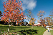Buildings in Lexington, autumn atmosphere. North Carolina. United States of America.