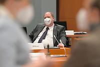 DEU, Deutschland, Germany, Berlin, 03.03.2021: Kanzleramtsminister Helge Braun (CDU) vor Beginn der 132. Kabinettsitzung im Bundeskanzleramt.