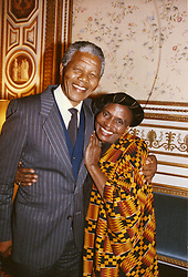 South Africa, Johannesburg - December 096, 2013.Former South African President Nelson Mandela has died in Johannesburg at the age of 95..Here pictured in Stockholm with MIRIAM MAKEBA undated. (Credit Image: © Giacomino/ROPI via ZUMA Press)