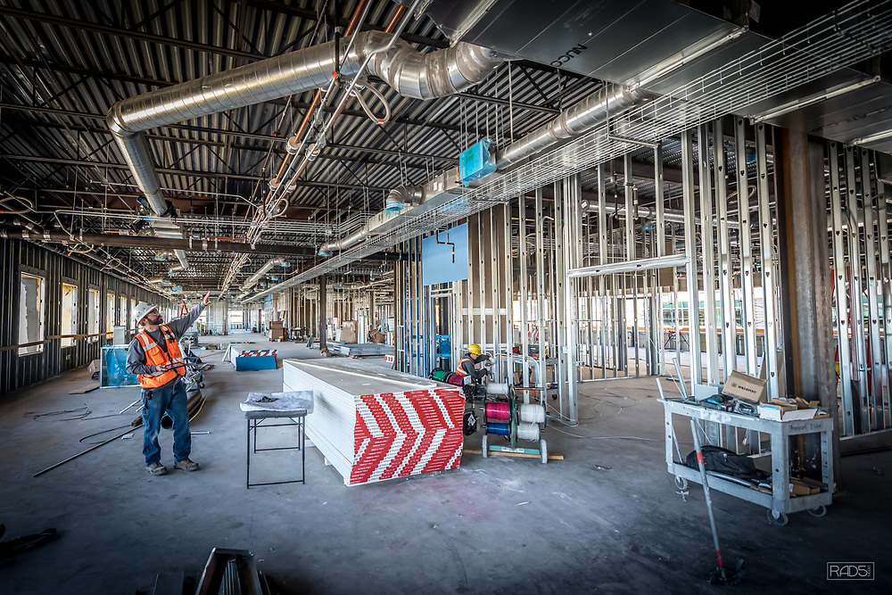 DKD Electric Presbyterian Hospital Administrative Office Project.