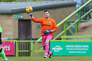 Forest Green Legends goalkeeper Tony Book during the Trevor Horsley Memorial Match held at the New Lawn, Forest Green, United Kingdom on 19 May 2019.