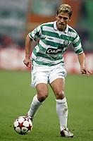 Fotball<br /> UEFA Champions League 2004/2005<br /> 29.09.2004<br /> Foto: Dppi/Digitalsport<br /> NORWAY ONLY<br /> <br /> AC MILAN v GLASGOW CELTIC <br /> <br /> STILIAN PETROV (CEL)
