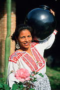 Black Pottery of Oaxaca, Mexico,(no model release, editorial use only)<br />