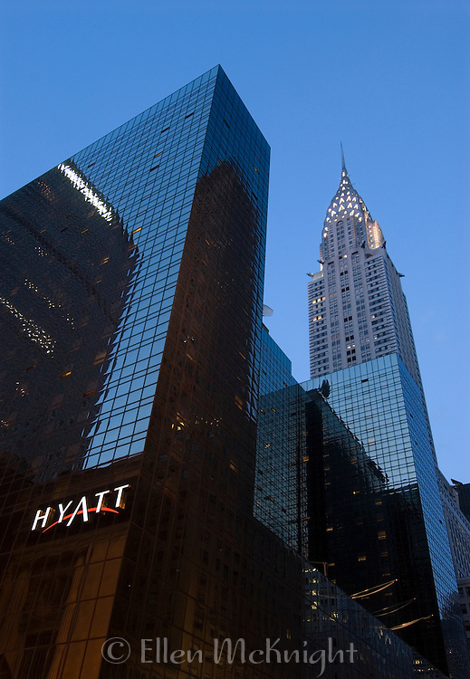 Chrysler Building in Midtown Manhattan, New York City at Twilight