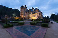 Belfast Castle is situated in Cavehill Country Park about 400 feet above sea level and has a commanding view of Belfast Lough, Belfast, Northern Ireland