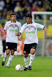 22-07-2009 VOETBAL: ADO DEN HAAG - VALENCIA CF: DEN HAAG<br /> Valencia wint met 4-1 van Den Haag / Pablo Hernandez Dominguez<br /> ©2009-WWW.FOTOHOOGENDOORN.NL