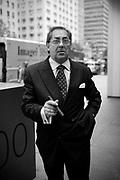 Business man in the street, Flatiron disctrict. New York City, 16 june 2010. Christian Mantuano / OneShot