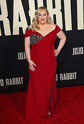 Jojo Rabbit Premiere - Los Angeles. 15 Oct 2019 Pictured: Rebel Wilson. Photo credit: Jen Lowery / MEGA TheMegaAgency.com +1 888 505 6342