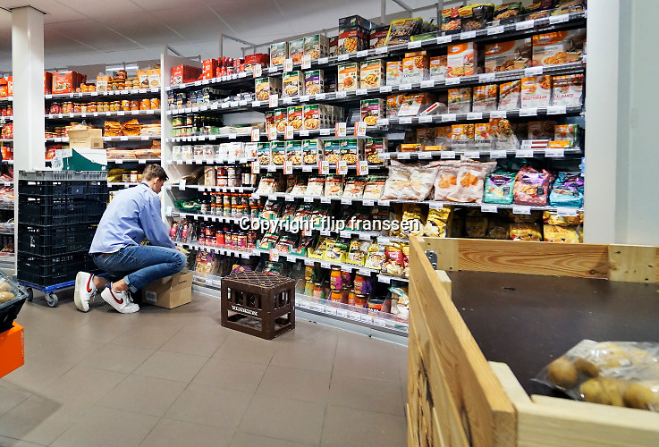 Nederland, Doesbirg, 9-3-2019Een winkel, filiaal, vestiging van supermarktketen Albert Heijn.Foto: Flip Franssen