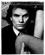 Sting The Police Studio Portrait London 1979
