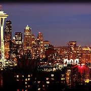 View of Seattle from Kerry Park 2-19-2012
