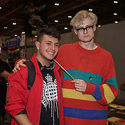 London, England, UK. 27th October 2017. Bertie Gilbert is a Director signing autographer at the MCM London Comic Con, which took place at the Excel Centre and hundreds of stall exhibition.