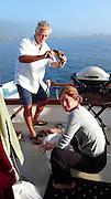 Crabbing, Spencer Spit, Lopez Island, San Juan Islands, Washington State