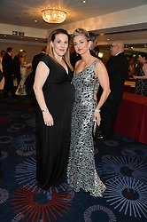 Left to right, TRUDI BESWICK and SAM BAILEY at the Caudwell Children's annual Butterfly Ball held at The Grosvenor House Hotel, Park Lane, London on 15th May 2014.