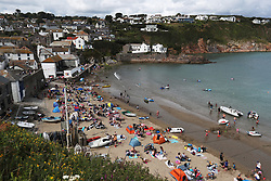 A general view of Gorran Haven in Cornwall