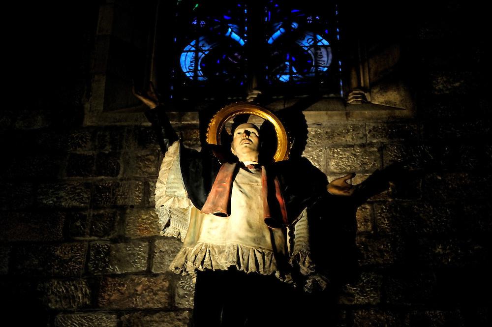 ecstatic religious statue in Barcelona