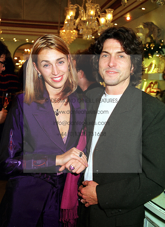 MR & MRS STEPHEN WEBSTER, he is the jeweller,  at a party in London on 25th November 1999.MZK 68