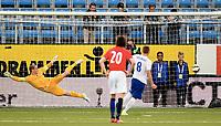 Fotball , 7. september 2015 ,  U21 , herrer<br /> Norge - England<br /> U21 men , Norway - England<br /> James Ward-Prowse , England scoring<br /> Sondre Rossbach , Norge