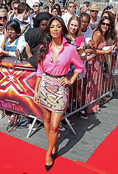 Nicole Scherzinger, The X Factor London auditions, Wembley arena, London UK, 15 July 2013, (Photo by Brett Cove) © Licensed to London News Pictures