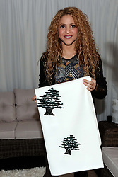 Lebanese Member of Parliament Sethrida Geagea receives Colombian singer Shakira as she visits Lebanon on July 13, 2018. Shakira is of Lebanese origin, a country where her paternal grandmother was born. Photo by Balkis Press/ABACAPRESS.COM