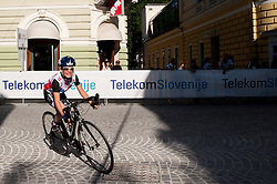 Jasa Baselj competes during amateur Hervis Time Trial at Stage 1of  cycling race 20th Tour de Slovenie 2013 - Time Trial 8,8 km in Ljubljana,  on June 12, 2013 in Slovenia. (Photo By Vid Ponikvar / Sportida)