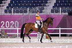Blom Merel, NED, The Quizmaster, 251<br /> Olympic Games Tokyo 2021<br /> © Hippo Foto - Dirk Caremans<br /> 26/07/2021no