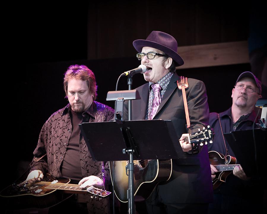 Elvis Costello at Telluride Bluegrass 2009